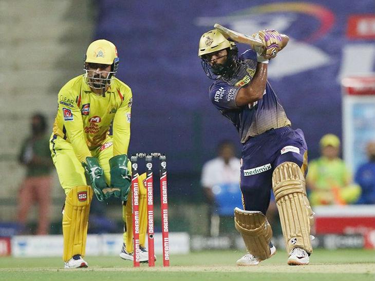 कोलकाता के ओपनर राहुल त्रिपाठी ने 51 बॉल पर 81 रन की पारी खेली। उन्हें मैन ऑफ द मैच भी चुना गया।