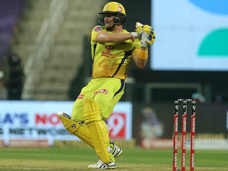 चेन्नई के ओपनर शेन वॉटसन ने 40 बॉल पर 50 रन की पारी खेली।