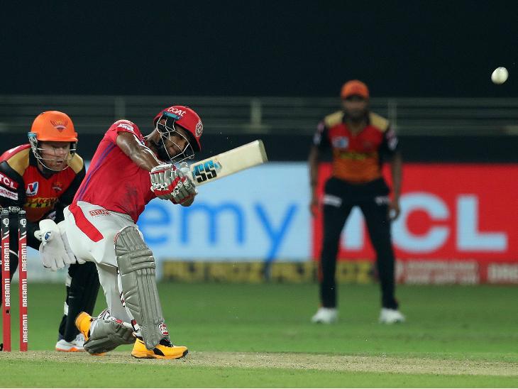 पूरन ने 17 बॉल पर अर्धशतक पूरा किया। यह पंजाब की ओर से दूसरी सबसे तेज फिफ्टी है। पूरन ने 37 बॉल पर 77 रन की पारी खेली। उन्होंने 5 चौके और 7 छक्के लगाए।