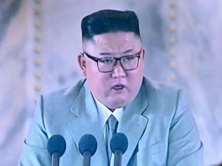 उत्तर कोरिया के तानाशाह किम जोंग ने शनिवार को मिलिट्री परेड को संबोधित करते हुए देश में कोरोना संक्रमण का एक भी मामला नहीं होने का दावा किया।