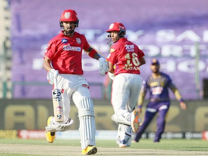 किंग्स इलेवन पंजाब के कप्तान लोकेश राहुल ने कोलकाता के खिलाफ सबसे ज्यादा 74 रन की पारी खेली। हालांकि वे मैच नहीं जिता सके।