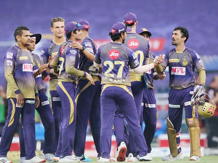 आईपीएल के 24वें मैच में कोलकाता नाइट राइडर्स ने किंग्स इलेवन पंजाब को 2 रन से शिकस्त दी। मैच जीतने के बाद टीम के खिलाड़ी इस तरह खुश नजर आए।