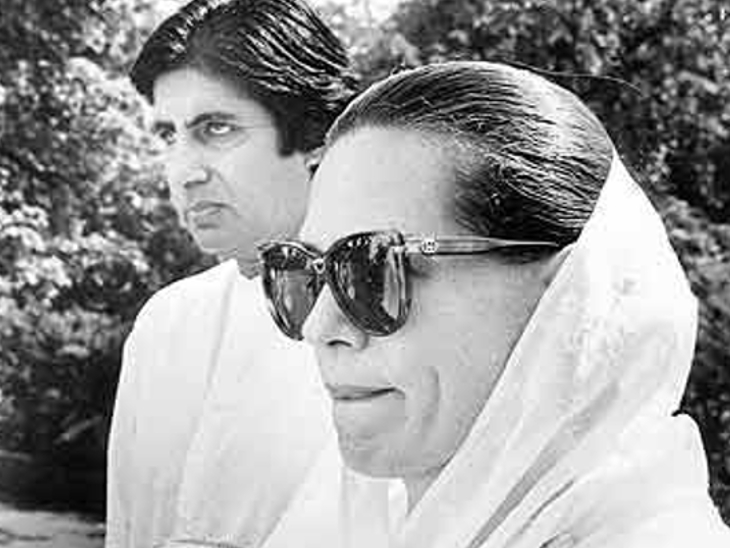 Sonia Gandhi came to India, Amitabh Bachchan also came to receive her.  On January 13, 19 at 7 pm, Rajiv introduced Sona to his best friend Amitabh at Palam Airport.  After that, 43 days before the wedding, Sonia was with Amitabh's parents Teji Bachchan and Harivansh Rai Bachchan.