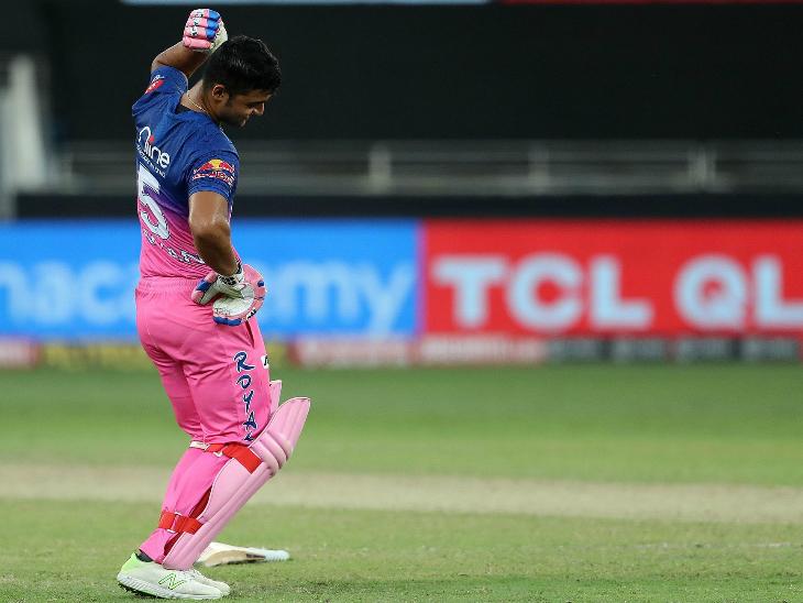 रियान पराग ने नाबाद 42 रन बनाकर अपनी टीम को जीत दिलाई।