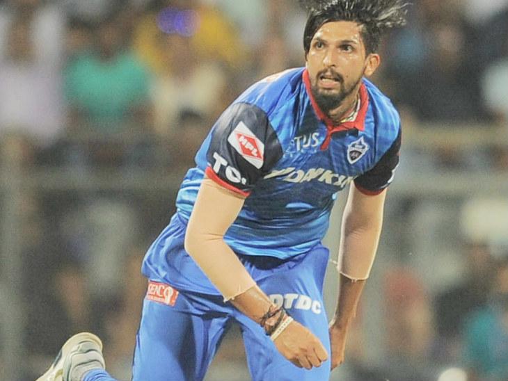 ईशांत शर्मा ने इस सीजन में एक ही मैच खेला, जिसमें उन्हें कोई विकेट नहीं मिला। उन्होंने आईपीएल में अब तक 90 मैच में 72 विकेट लिए। -फाइल फोटो - Dainik Bhaskar