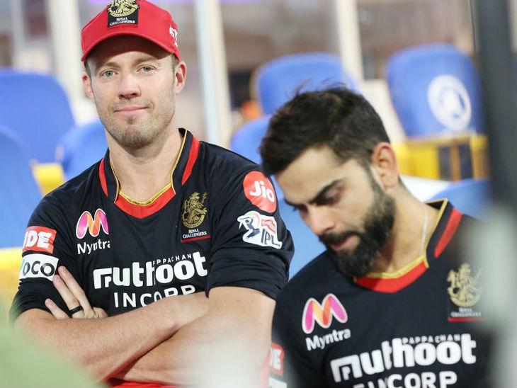 मैच जीतने के बाद डिविलियर्स और कोहली कुछ इस तरह नजर आए। दोनों ने साथ मिलकर आईपीएल में 3000 से ज्यादा रन बनाए।