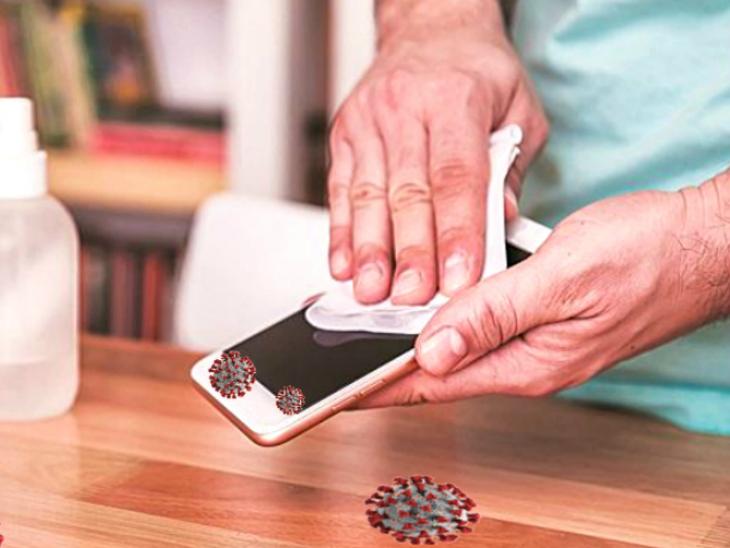 मोबाइल फोन की स्क्रीन पर 28 दिन तक जिंदा रह सकता है कोरोना, घर में एंट्री करें तो इसे सैनेटाइज करना न भूलें; ऑस्ट्रेलिया के वैज्ञानिकों ने किया सावधान|लाइफ & साइंस,Happy Life - Dainik Bhaskar