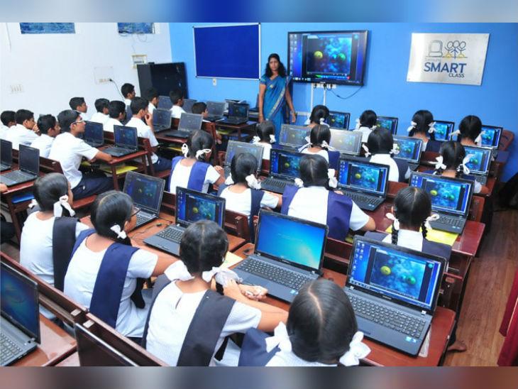 सभी सरकारी स्कूलों में हाई टेक क्लास वाला देश का पहला राज्य बना केरल, 8वीं से 12वीं तक की कुल 42 हजार क्लासेस में लगाए गए लैपटॉप, प्रोजेक्टर, वेबकैम|करिअर,Career - Dainik Bhaskar