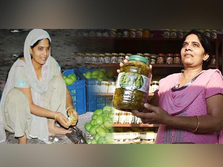 कृष्णा यादव ने इस तरह एक छोटे से स्टॉल से अचार बेचने की शुरुआत की थी। उन्होंने अपने साथ आसपास की कई महिलाओं को भी जोड़ लिया था।