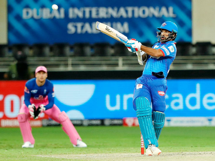 Shikhar Dhawan scored the highest score of 57 for Delhi Capitals.  Dhawan became the first Indian to put a 39th fifty in the IPL.  In this case, Dhawan left behind Virat Kohli, Rohit Sharma and Suresh Raina.