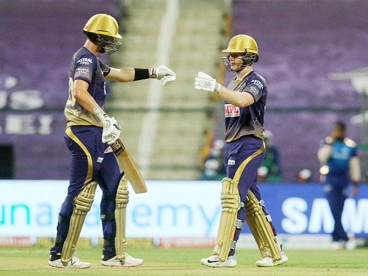 कमिंस ने केकेआर के कप्तान इयोन मॉर्गन (39) के साथ छठवें विकेट के लिए 87 रन की पार्टनरशिप कर टीम का स्कोर 145 के पार पहुंचाया।