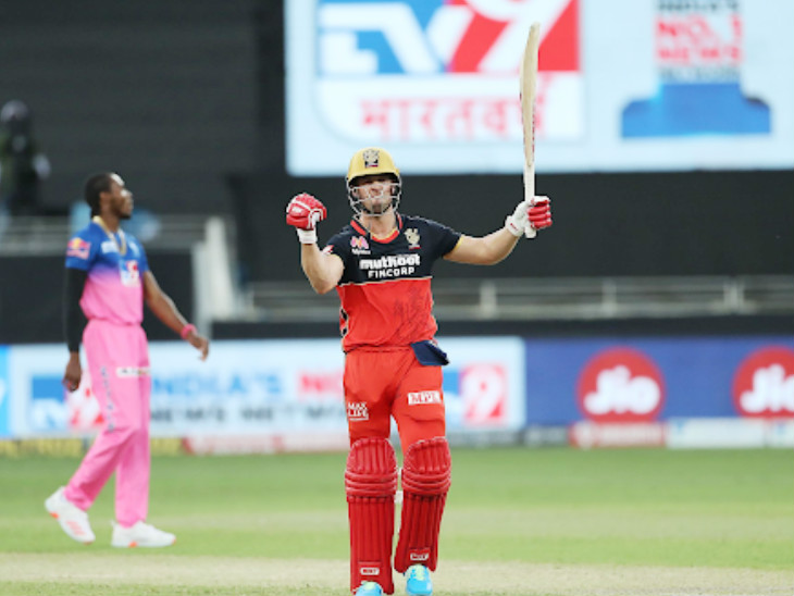 AB de Villiers hit 6 sixes in his innings. Mr. 360 looked like this after winning the team.