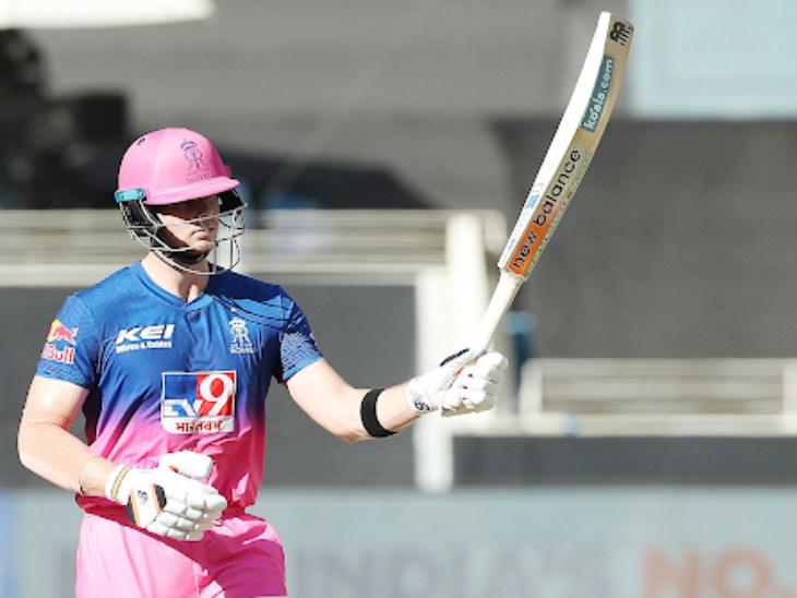 राजस्थान के कप्तान स्टीव स्मिथ ने टीम को 170 के पार पहुंचाया। स्मिथ ने 36 बॉल पर 57 बनाए।