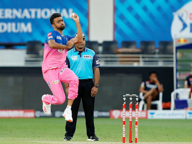 De Villiers and Gurkeerat Singh scored 25 runs in one over of Rajasthan's Jaydev Unadkat.