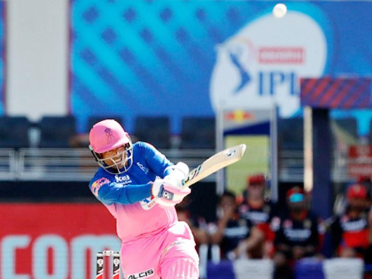 जोस बटलर की जगह ओपनिंग करने उतरे रॉबिन उथप्पा ने 22 बॉल पर 41 रन बनाए। उन्होंने सीजन में पहली बार राजस्थान को 50 रन से ज्यादा की ओपनिंग पार्टनरशिप दी।
