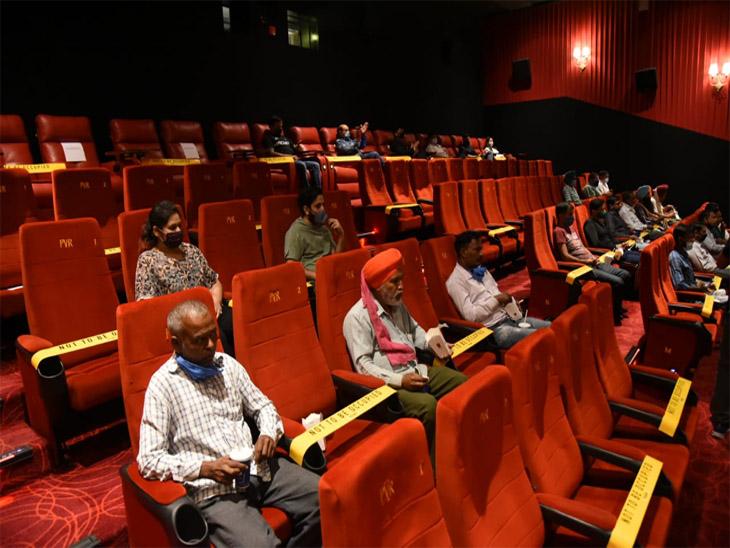 शहर के कोरोना वॉरियर्स का विशेष सम्मान फिल्म दिखा कर किया गया