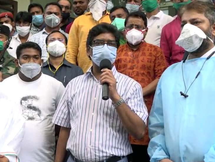 मुख्यमंत्री हेमंत सोरेन ने कहा कि चेन्नई से चिकित्सकों की टीम कल आने वाली थी, लेकिन टीम को आज ही आने का अनुरोध किया गया है।