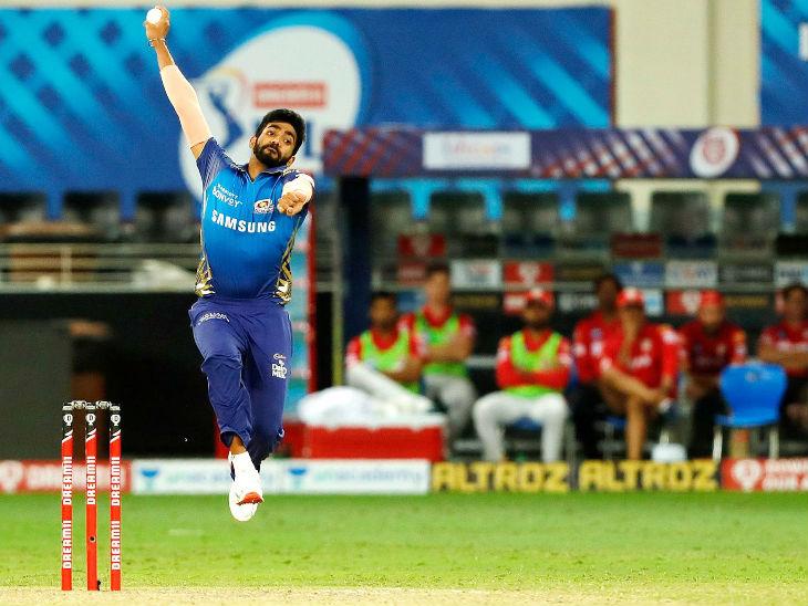 जसप्रीत बुमराह ने मैच में 24 रन देकर 3 विकेट लिए। पहला सुपर ओवर भी उन्होंने ही किया, जिसमें पंजाब को सिर्फ 5 रन पर रोका।