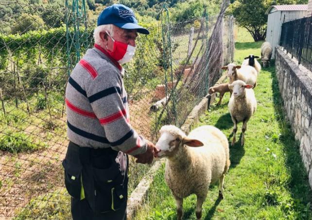 जियोवेनी केरिली कहते हैं, बेशक मैं बूढ़ा हो गया हूं, लेकिन अपनी भेड़ों की देखभाल करने में कोई कसर नहीं छोड़ना चाहता।