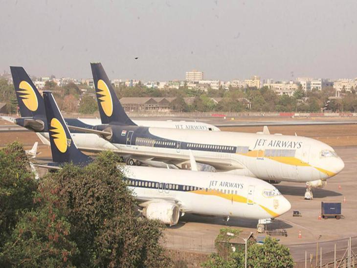 जेट एयरवेज के शेयर बीते 8 दिनों में 47% बढ़ा, रेजोल्यूशन प्लान को लेंडर्स से मंजूरी के बाद आज भी 5% की तेजी|बिजनेस,Business - Dainik Bhaskar