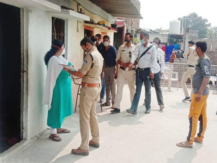 पुलिस ने मौके पर पहुंचकर शव को पीएम के लिए भिजवाया।