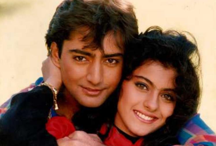 Kamal with Kajal in 'Bekhudi'.