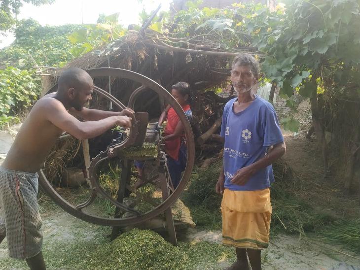 रामनाथ राम मजदूरी करके गुजारा करते हैं। कहते हैं कि नीतीश ने ही हमारे साहब( गुप्तेश्वर पांडे) का टिकट काट दिया।