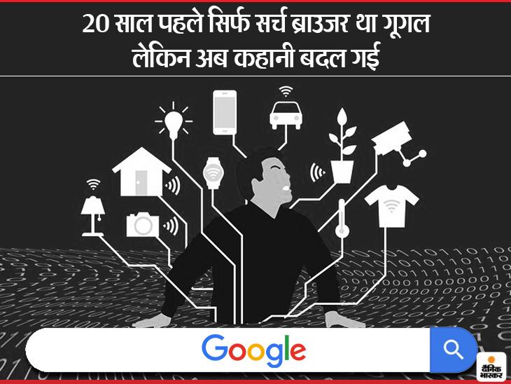 आपकी हर हरकत पर गूगल की नजर, कंट्रोल भी अब उसके हाथों में; जानें क्यों है डरने की जरूरत?|टेक & ऑटो,Tech & Auto - Dainik Bhaskar