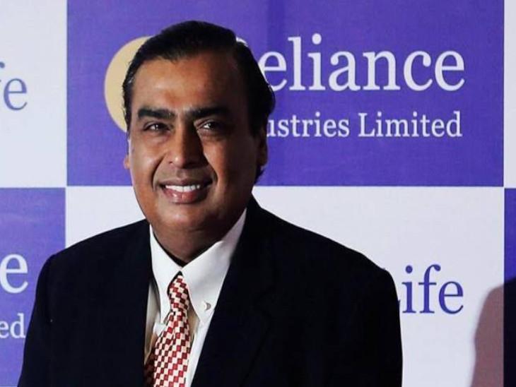 अब FII के पास रिलायंस इंडस्ट्रीज लिमिटेड के कुल 165.8 करोड़ शेयर हो गए हैं। - Dainik Bhaskar