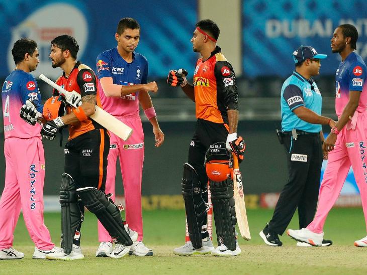 मनीष और शंकर की फिफ्टी से जीती सनराइजर्स, पॉइंट्स टेबल के टॉप-5 में पहुंची|IPL 2020,IPL 2020 - Dainik Bhaskar