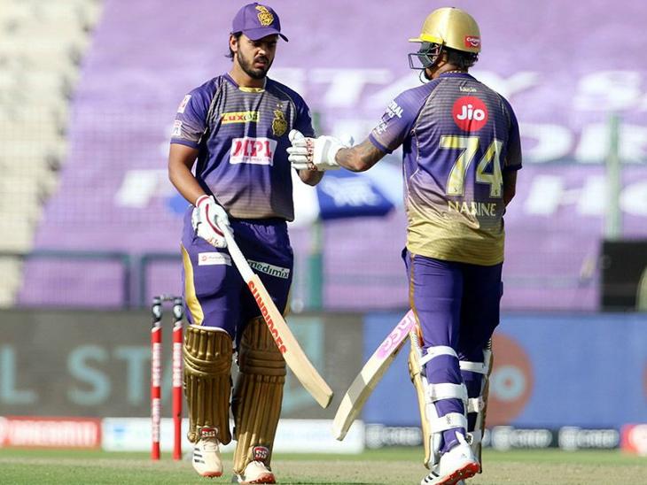 राणा और नरेन ने चौथे विकेट के लिए 115 रन की पार्टनरशिप की।