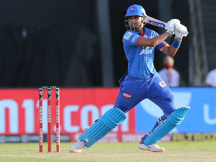 दिल्ली के कप्तान श्रेयस अय्यर ने अपनी टीम के लिए सबसे ज्यादा 47 रन की पारी खेली।