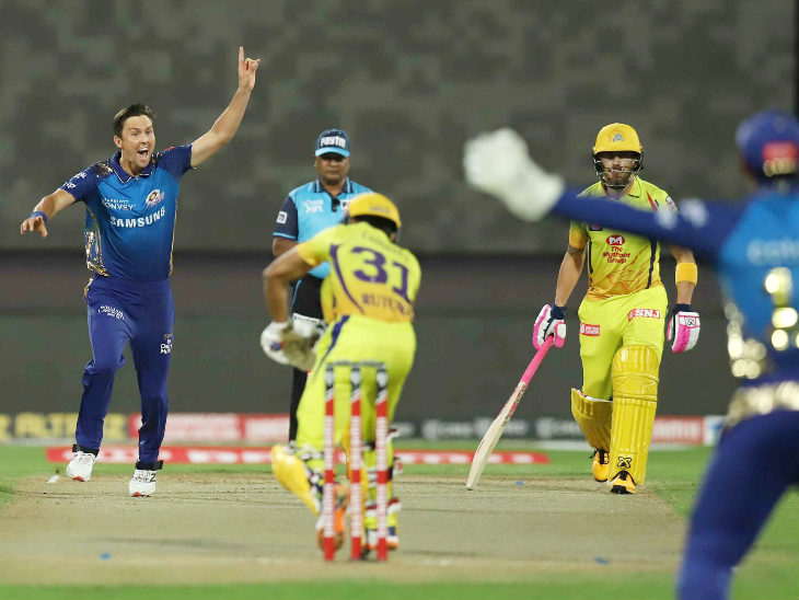 चेन्नई ने पहली बार पावरप्ले में 5 विकेट गंवाए। दोनों युवा खिलाड़ी रितुराज गायकवाड़ और एन जगदीशन खाता खोले बिना ही आउट हो गए।