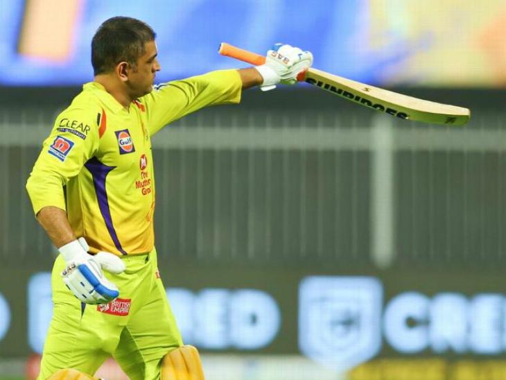 11 में से 8 मैच हारने के बाद धोनी बोले- किस्मत साथ नहीं थी, तीन मैच अगले साल की तैयारी के लिए IPL 2020,IPL 2020 - Dainik Bhaskar