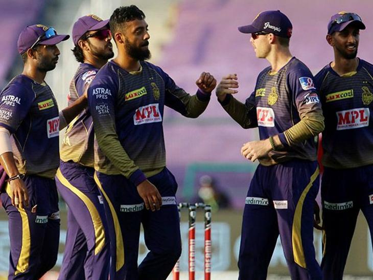 प्ले-ऑफ के लिए नाइट राइडर्स का दावा मजबूत, IPL में वरुण के पहली बार 5 विकेट IPL 2020,IPL 2020 - Dainik Bhaskar