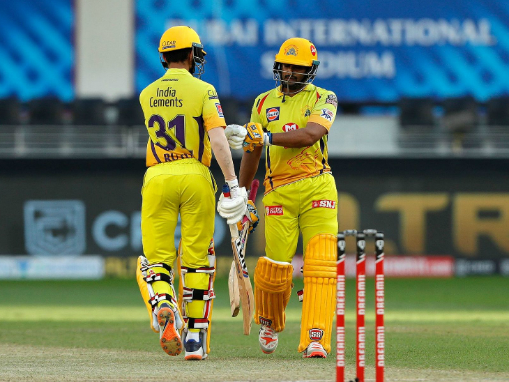 अंबाती रायडू ने भी 39 रन की अहम पारी खेली।