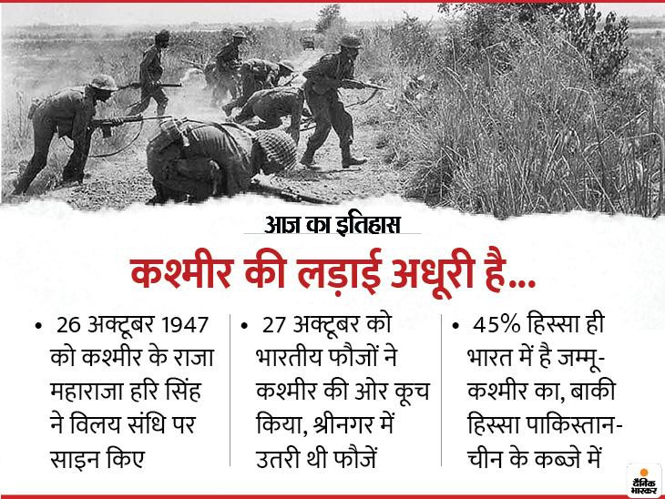 कश्मीर पर महाराजा हरि सिंह ने लिया था बड़ा फैसला, नेहरू ने की थी सबसे बड़ी भूल! देश,National - Dainik Bhaskar