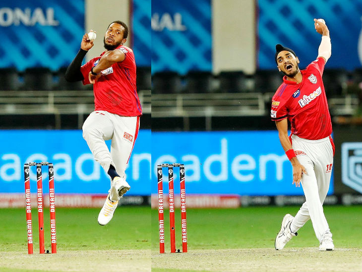 Chris Jordan and Arshdeep Singh of Punjab turned the match around 2-2 in the last 3 overs.