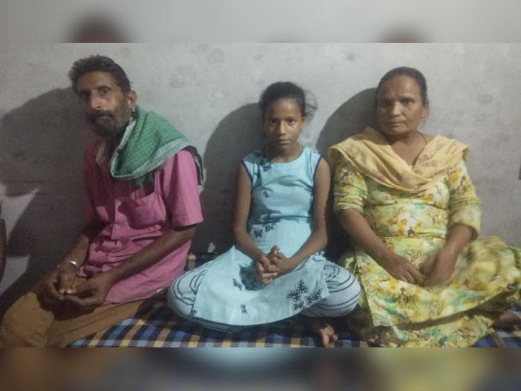 कमाऊ पूत सन्नी की मौत के बाद पिता दर्शन सिंह, मां दर्शन कौर और एक बिन ब्याही बहन ये तीन सदस्य हैं घर में।