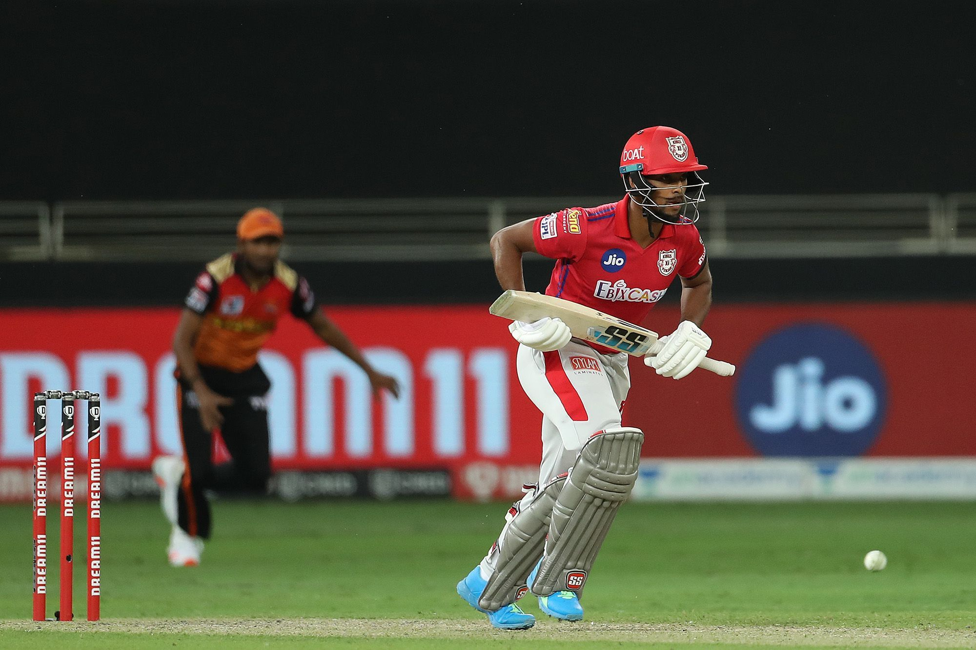Nicholas Puran top-scored for Punjab with 32 runs.  As a result the team scored 126 for 7 wickets.
