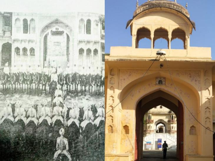 जयपुर में जहां ठहरती थीं राजाओं की पलटन.. अब वहीं से चलेगी जयपुर हैरिटेज की 'नगर सरकार'|राजस्थान,Rajasthan - Dainik Bhaskar