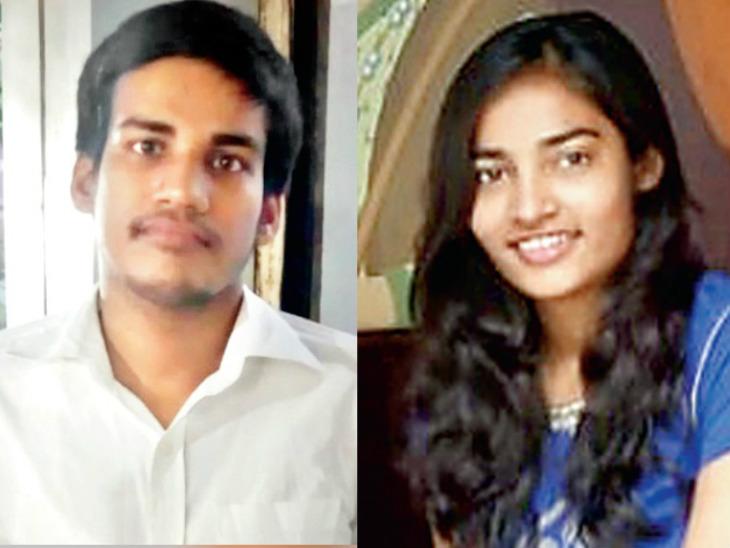 इंजीनियरिंग कर रहे भाई-बहन अभिषेक और अनीता भारती को महामारी के दौरान जरूरतमंद छात्रों की मदद और खाली समय के सही इस्तेमाल का यह आइडिया आया। - Dainik Bhaskar