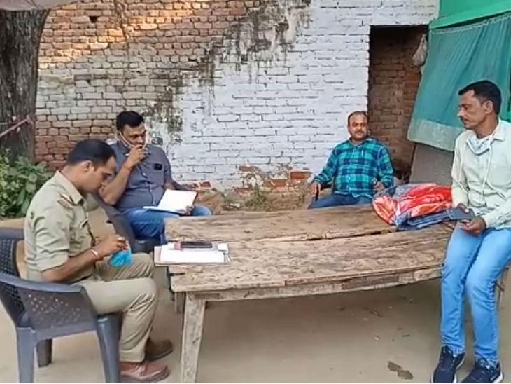 भड़काऊ बयान मामले में एसटीएफ ने हाथरस केस के विक्टिम परिवार से की पूछताछ|उत्तरप्रदेश,Uttar Pradesh - Dainik Bhaskar