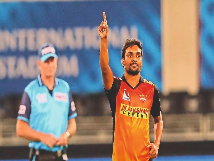 पंजाब के तेज गेंदबाजसंदीप शर्मा IPL में 100 विकेट लेने वाले छठे भारतीय गेंदबाज बने; 48 विकेट पावर प्ले में लिए IPL 2020,IPL 2020 - Dainik Bhaskar