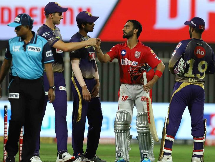 किंग्स इलेवन पंजाब ने सीजन में लगातार पांचवीं जीत दर्ज की। उसने आईपीएल इतिहास में दूसरी बार लगातार 5 मैच जीते। 2014 में भी यूएई में लगातार 5 मैच जीते थे।