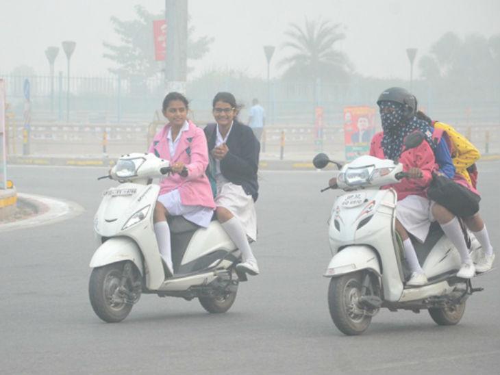 48 घंटे में बिगड़ी हवा की सेहत, वाणु गुणवत्ता लेवल 341 पहुंचा, नियंत्रण करने में अफसर फेल लखनऊ,Lucknow - Dainik Bhaskar