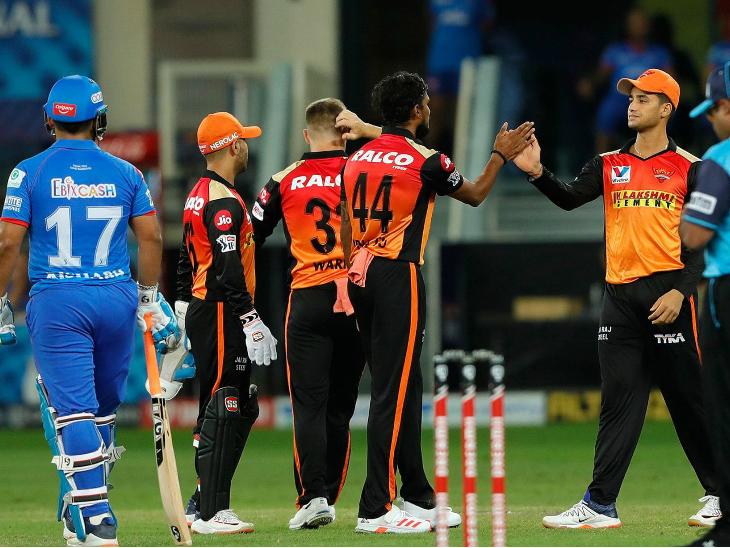 200+ रन बनाने के बाद हैदराबाद को 9वीं बार जीत मिली, जबकि इससे ज्यादा के स्कोर पर वह सिर्फ एक बार हारी है। उसके प्ले-ऑफ में पहुंचे की उम्मीद अभी भी जिंदा है।