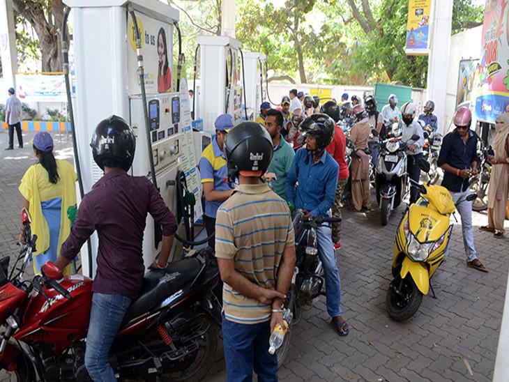 दिवाली तक पेट्रोल और डीजल की कीमतों में आएगी गिरावट; लगातार 26 वें दिन भी ईंधन के भाव में बदलाव नहीं|बिजनेस,Business - Dainik Bhaskar