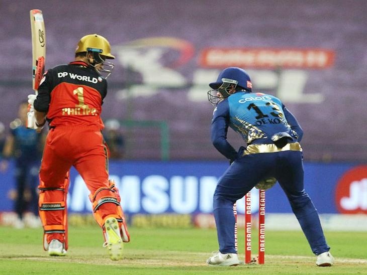 बेंगलुरु का पहला विकेट गिरा, फिलिप 33 रन बनाकर आउट; राहुल चाहर को विकेट मिला