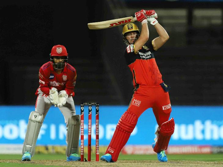 पंजाब के खिलाफ 31वें मैच में डिविलियर्स को 6वें नंबर पर बैटिंग के लिए भेजा गया।